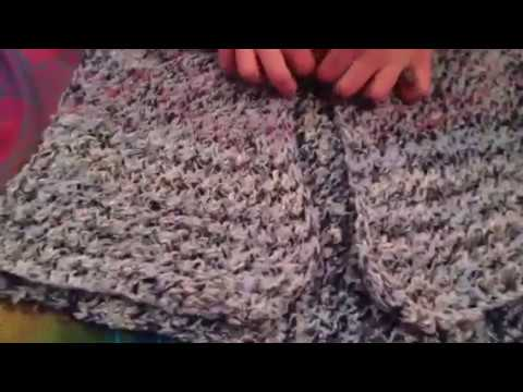 Knitted Shrug VLOG 2