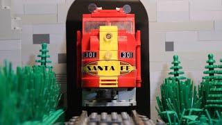 Lego Train Robbery