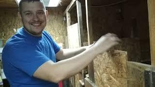 Каркасный сарай из ОSB для животных  спустя 2 года/Плюсы,минусы/Мыши,отопление/Почему не из блоков?