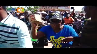 Waandamanaji waiba mali dukani Kisumu