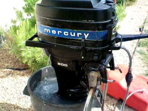 1978 Mercury 200 20HP Outboard Motor  YouTube