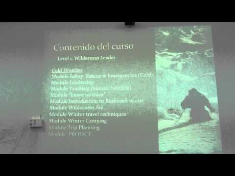 Wilderness Leader & Expedition Guide bloques formativos 2