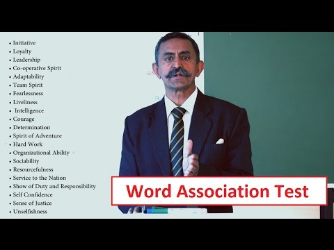 Word Association Test (WAT) - PART-2 || SSB Tips || Services Selection Board