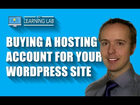WordPress Hosting: Buying A (BlueHost) Hosting Account for Your Website - WP Learning Lab - 동영상