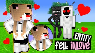 """VERY SAD STORY - ENTITY is """"BROKEN HEARTED"""" - MONSTER SCHOOL MINECRAFT ANIMATION"""