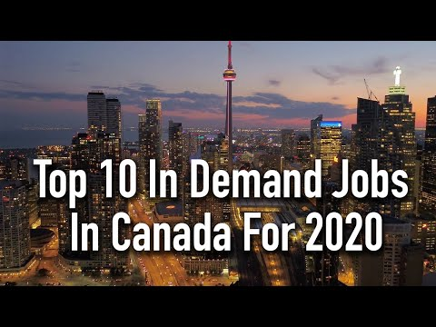 Top 10 In Demand Jobs In Canada For 2020 (With Salaries)