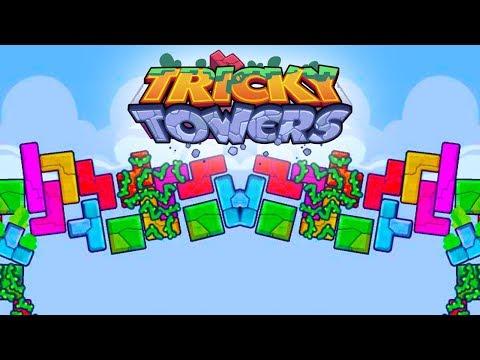 THE SHADOW SPEEDY SHOWDOWN! - Tricky Towers with The Crew!