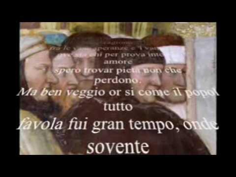 """""""Voi ch' ascoltate in rime sparse il suono"""" di  Petrarca declamato da Riccardo Zuffellato"""