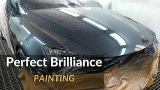 "Painting car / Lexus   Clear coat / Iwata ws400 ,,Hakone"""