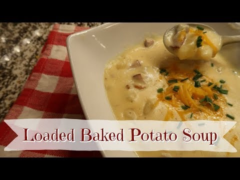 VLOGMAS DAY 2 | LOADED BAKED POTATO SOUP | CookCleanAndRepeat