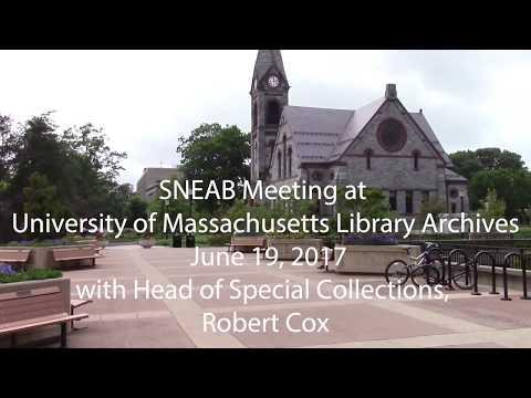 University of Massachusetts Du Bois Library Archives