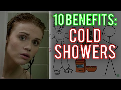 TOP 10: Benefits of Cold Showers ► Cold Shower Benefits (NoFap Too!)