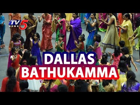 Bathukamma And Dasara Celebrations In Dallas | USA | TV5 News