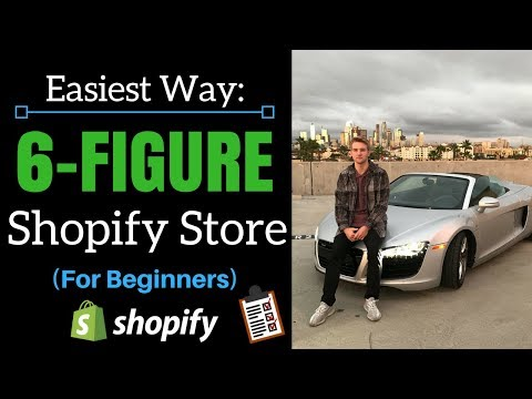 The Fastest Way To Build A 6-Figure Shopify Store (Beginner Friendly)