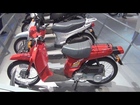 Honda SH50 (1984) Exterior And Interior In 3D