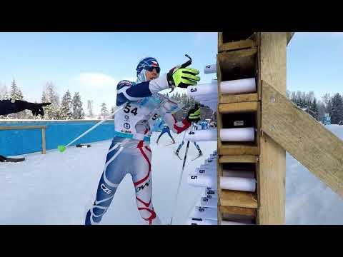 SPRINT RELAY / World University Ski Orienteering Championship / 22.02.2018