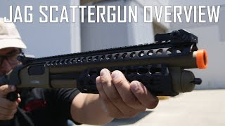 JAG Scattergun Overiew!! - Airsoft GI