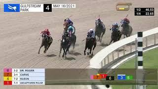Gulfstream Park May 16, 2021 Race 4
