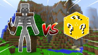 ESQUELETO MUTANTE VS. LUCKY BLOCK (MINECRAFT LUCKY BLOCK CHALLENGE)