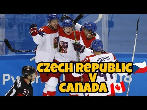 ZOH 2018 - Czech Republic vs Canada /Goals, shootout/