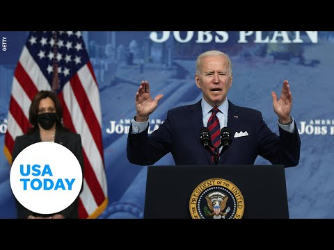 President Biden remarks on 200 million COVID-19 vaccines in 100 days | USA TODAY