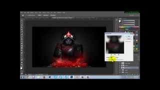 Comment faire une vignette Roblox dans Photoshop