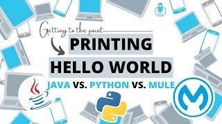 Printing Hello World: Java vs. Python vs. Mule. Under 30 seconds! | Getting to the point
