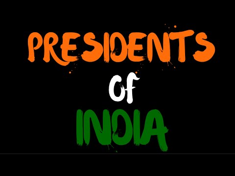 Presidents of India