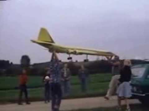 Flugmodell Boeing 2707 Erstflug September 1977