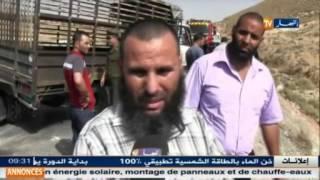 باتنة : إرهاب الطرقات .. مقتل شخص وإصابة 5 إخرين في حادث مرور