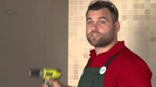 How To Install A Towel Rail Into Plaster - Diy At Bunnings