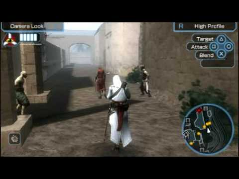 Assassins Creed Bloodlines Psp Gameplay 1 Youtube