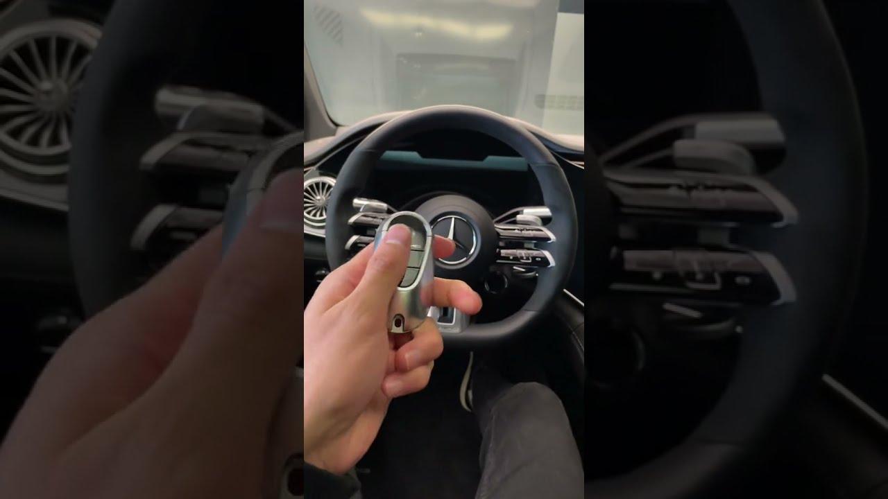 2022 EQS 53 AMG interior