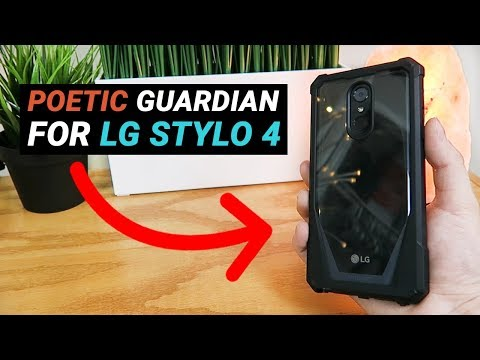 Poetic Guardian Series for LG Stylo 4 - Review!