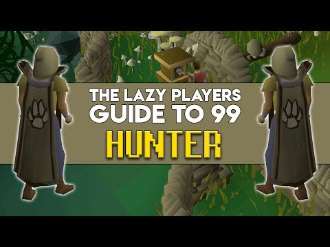 The Lazy Players Guide To 99 Hunter