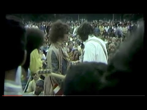 Long Lost MC5 Footage! Democratic National Convention Riots  Chicago 1968