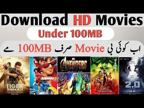 How To Download Any New Hd Movie With 100/200Mb In Mobile..