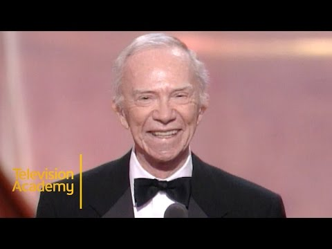 Ray Walston Wins Outstanding Supporting Actor in a Drama For PICKET FENCES  Emmy Archive 1995