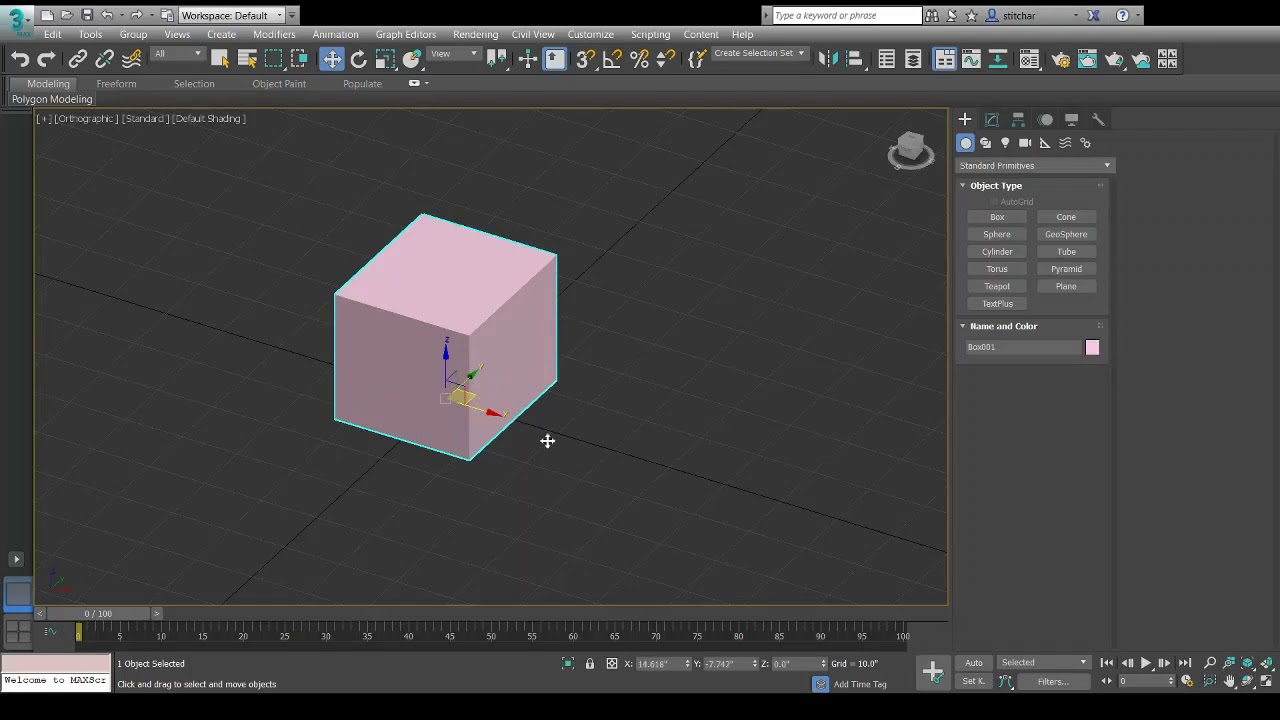 Solved: Move and Rotation tools not working in 3ds Max 2017