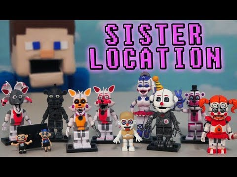 Five Nights at Freddys Mcfarlane Toys Complete Sister Location Fnaf Figures Checklist