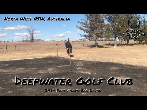Deepwater Golf Club, Australia - Sand Green Golf Course Vlog
