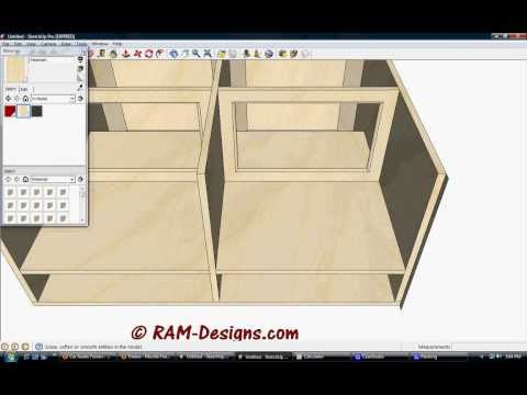 Ram Designs Kicker Solox 12 Ported Sub Box Design