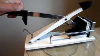 Brabantia Hand Deluxe French Fry Cutter - How To Make Your Own French Fries !