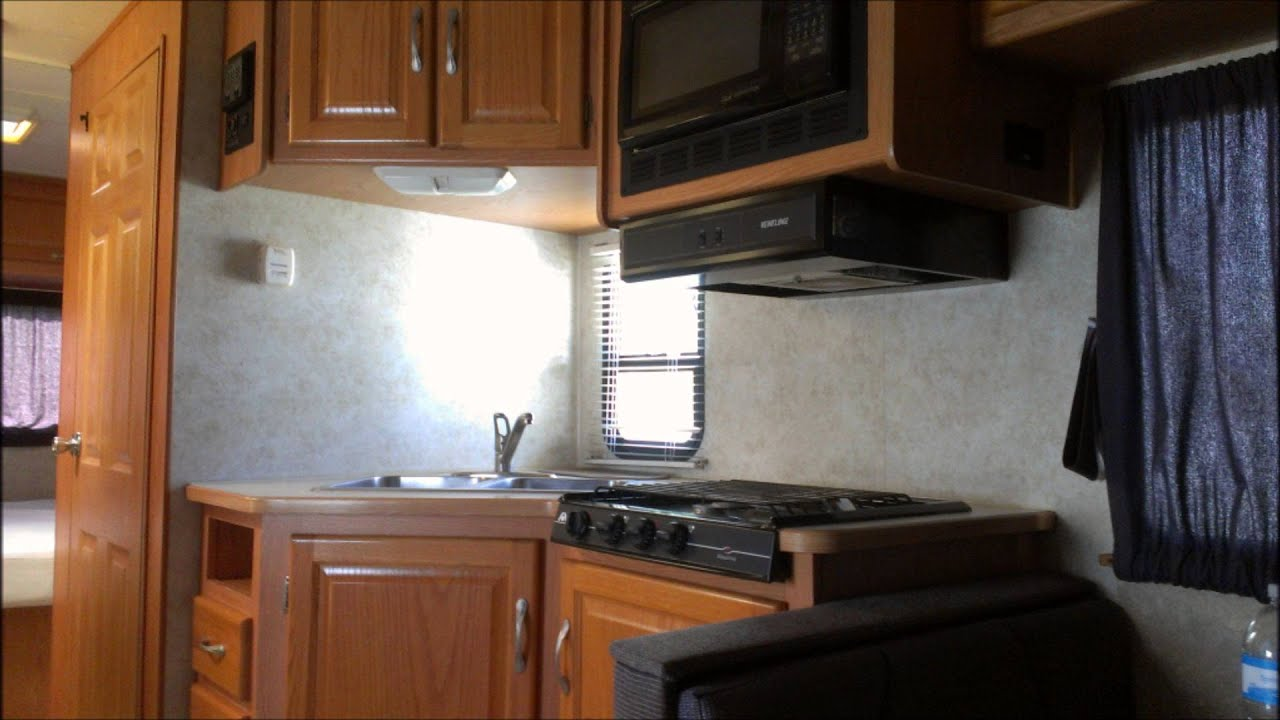 Bed Over Sofa Bizarto Four Winds Majestic Class C Motorhome - Rv For Sale By ...