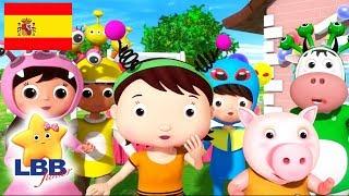 Canciones para Niños | Canción Alienígena | Canciones Infantiles | Little Baby Bum Júnior