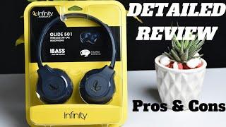 Infinity Glide 501 Wireless On Ear Headphone Detailed Review Infinity Glide 501 Headphone Review