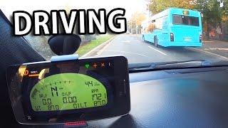 OBD II ELM327 VDash App - Driving & Reading ECU data