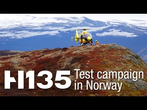 New H135 completes test campaign in Norway