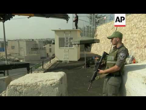 Guard posts to monitor Jerusalem boundries