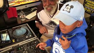 DJ Arch Jnr Jamming With The Godfathers Of Deep House Masia (7yrs old)